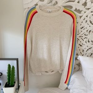 Urban Outfitters Rainbow Sweater